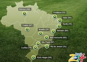 localitati de disputare meciuri brazilia