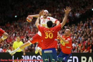 Danemarca-Spania campionatul european de handbal amsculin