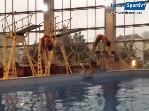 Campionatul national de sarituri in apa Bacau 2014