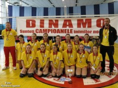 dinamo romprest bucuresti volei feminin sperante campioane nationale 2013-2014