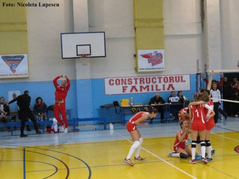 dinamo romprest bucuresti volei sperante fete