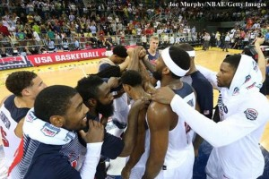 SUA campionatul mondial de baschet masculin
