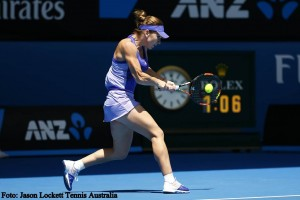 Simona Halep - Jason Lockett Tennis Australia