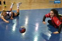 handbal junioare 1 turneu semifinal roman