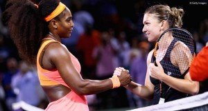 simona halep serena williams getty images