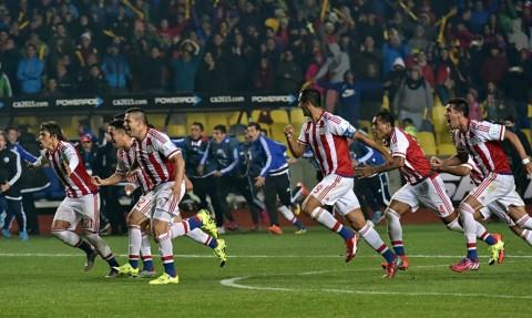 Brazilia Paraguay Copa America 2015