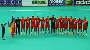 Romania handbal masculin under 21 CM Brazilia