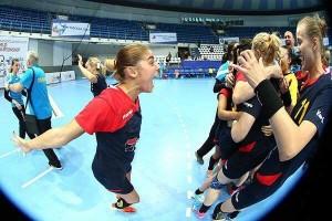 Alexandra Dindiligan Romania handbal feminin tineret