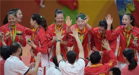 China aur olimpic volei feminin
