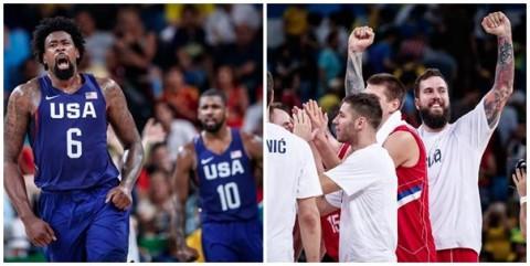 finala baschet masculin rio 2016 sua serbia