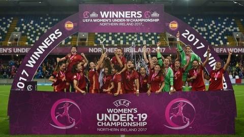 Spania fotbal feminin CE under 19
