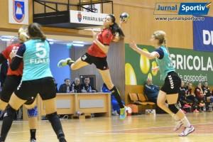Handbal feminin Stiinta Bacau- HC Zalau